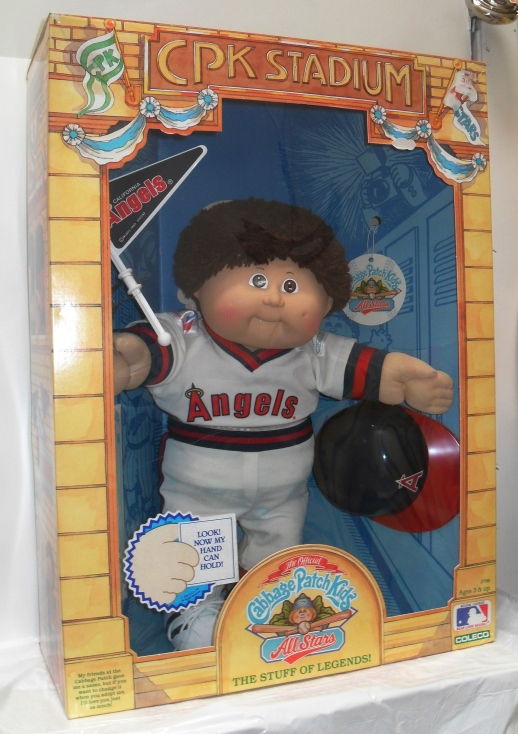 80s Cabbage Patch Kids: CPK Stadium (Baseball: Angels Version) | 80sretroplace.wordpress.com